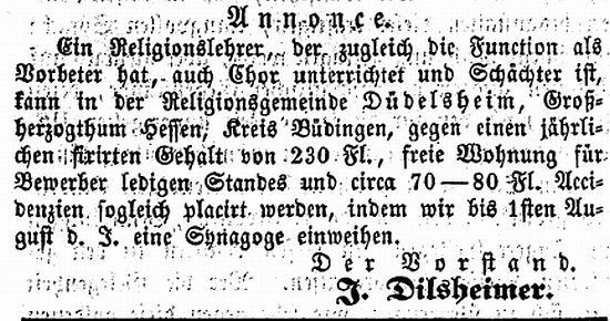 http://www.alemannia-judaica.de/images/Images%20116/Duedelsheim%20AZJ%2018061861.jpg