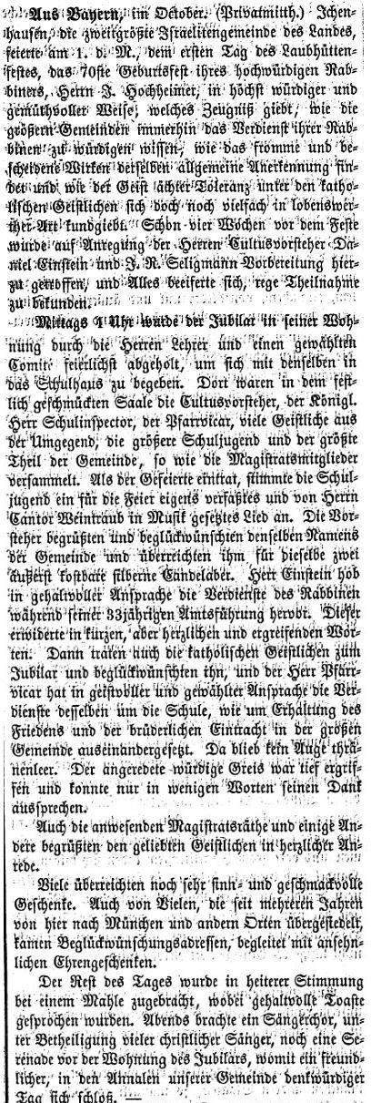 Texte zur Geschichte der Rabbiner und jüdischen Lehrer in ...