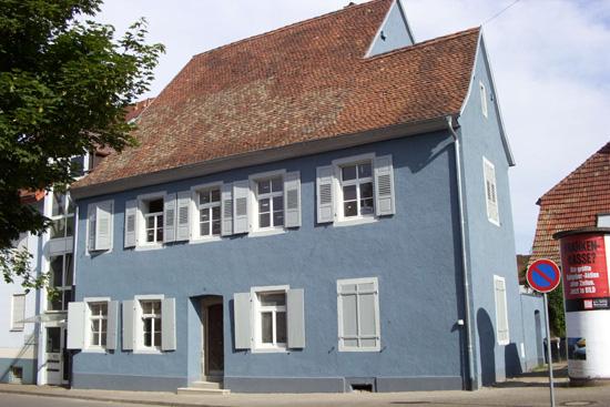 Blaue Häuser die synagoge in breisach landkreis breisgau hochschwarzwald