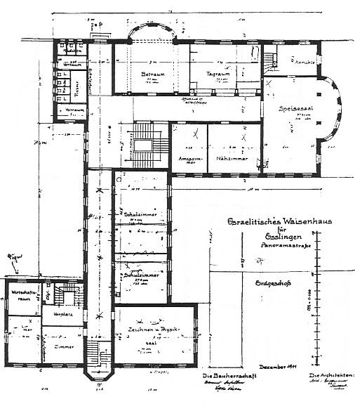 die synagoge in esslingen kreisstadt. Black Bedroom Furniture Sets. Home Design Ideas