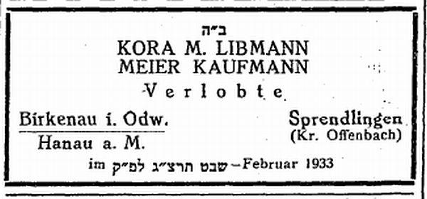 Die synagoge in sprendlingen stadt dreieich kreis offenbach for Kaufmann offenbach
