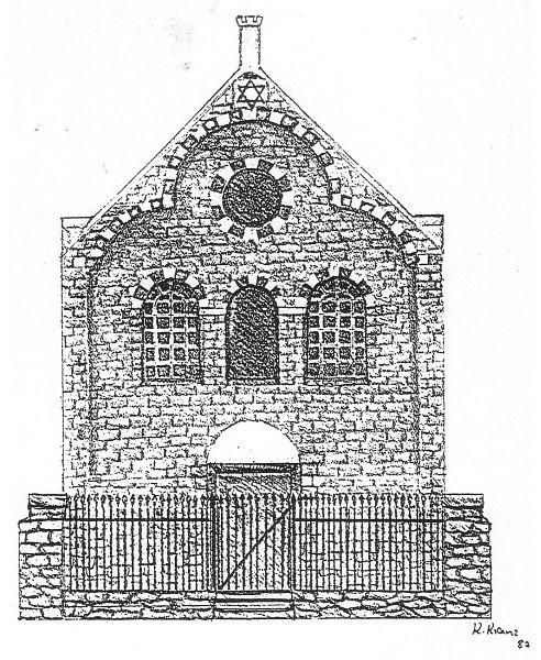 die synagoge  niedermendig gemeinde mendig kreis mayen