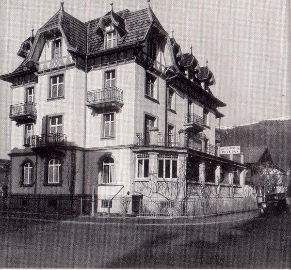 Jüdische Geschichte In Interlaken (Kanton Bern, Schweiz