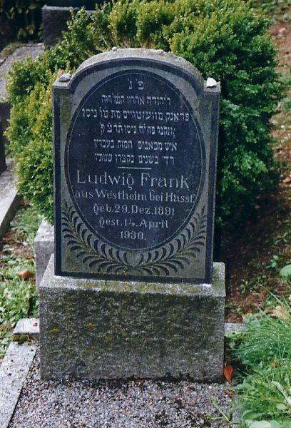 Der j dische friedhof in eberbach rhein neckar kreis for Frank westheim