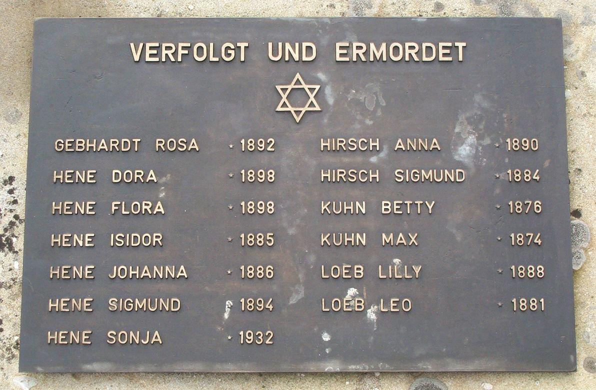 http://www.alemannia-judaica.de/images/Images%20359/Hassloch%20Gedenktafel%20020.jpg