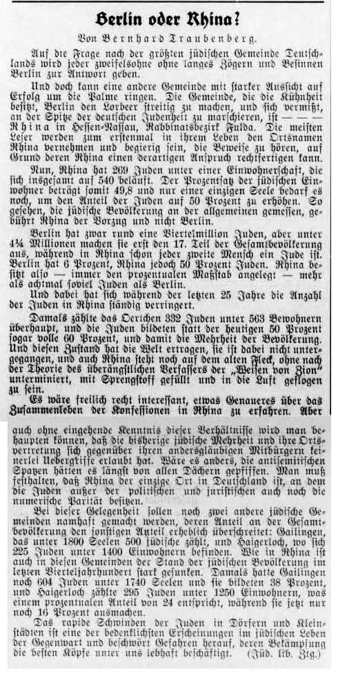 ansiedlungen in berlin 1927