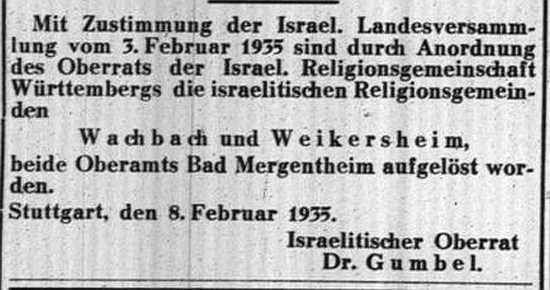 http://www.alemannia-judaica.de/images/Images%20380/Wachbach%20GemZeitung%20Wue%2016021935.jpg