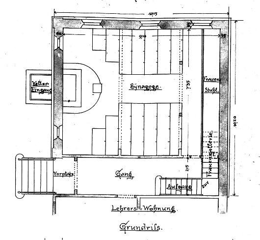 die synagoge in k nigheim main tauber kreis. Black Bedroom Furniture Sets. Home Design Ideas