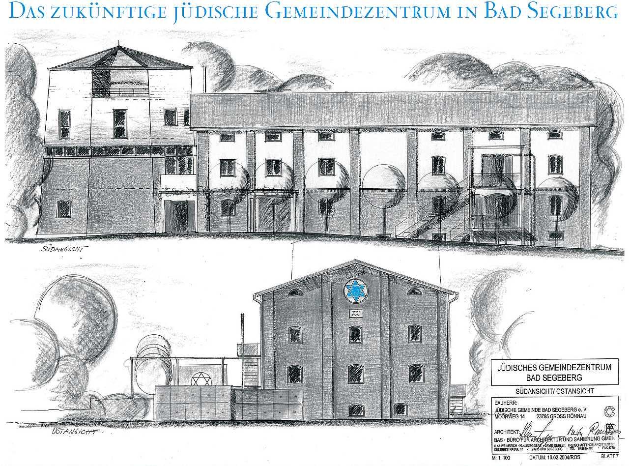 die synagoge in bad segeberg schleswig holstein. Black Bedroom Furniture Sets. Home Design Ideas