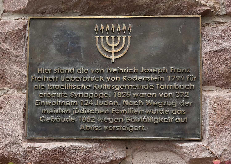 http://www.alemannia-judaica.de/images/Images%20411/Tairnbach%20Gedenktafel%20010.jpg