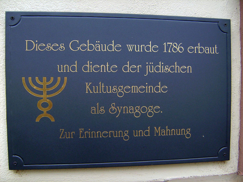 Die Synagoge In Niederwerrn Kreis Schweinfurt