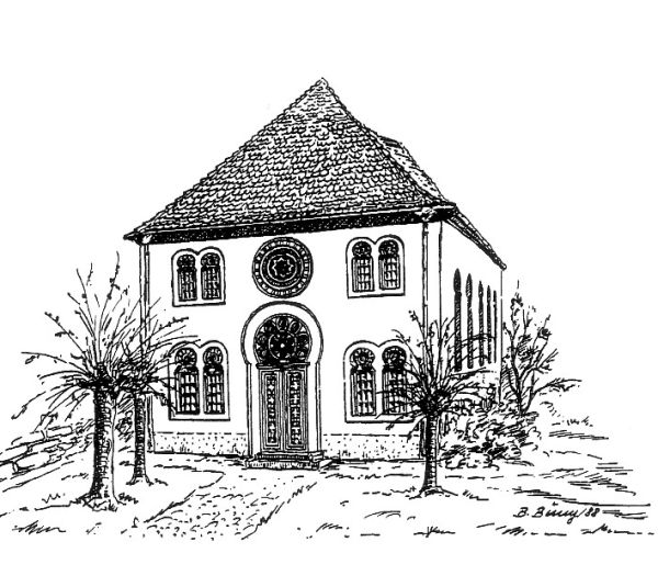 Die Synagoge in Bad Bergzabern (Kreis Südliche Weinstraße)