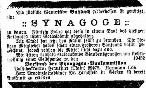 mitglieder magistrat butzbach