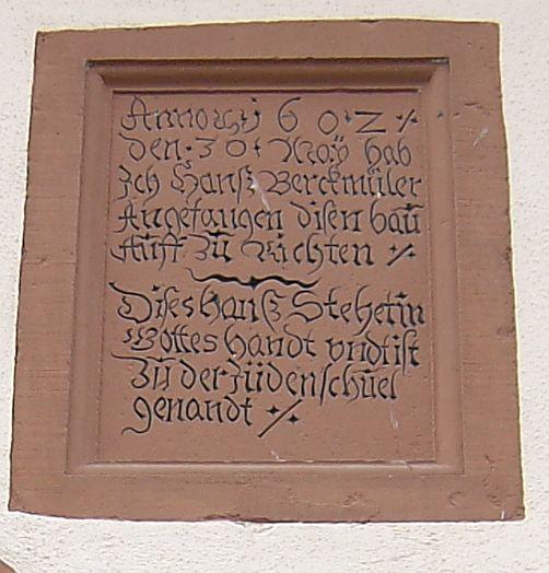 http://www.alemannia-judaica.de/images/Images%2081/Karlstadt%20Judenschule%20100.jpg
