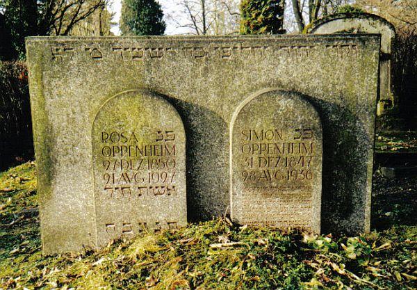 Der j dische friedhof in coburg oberfranken for Rosa coburg