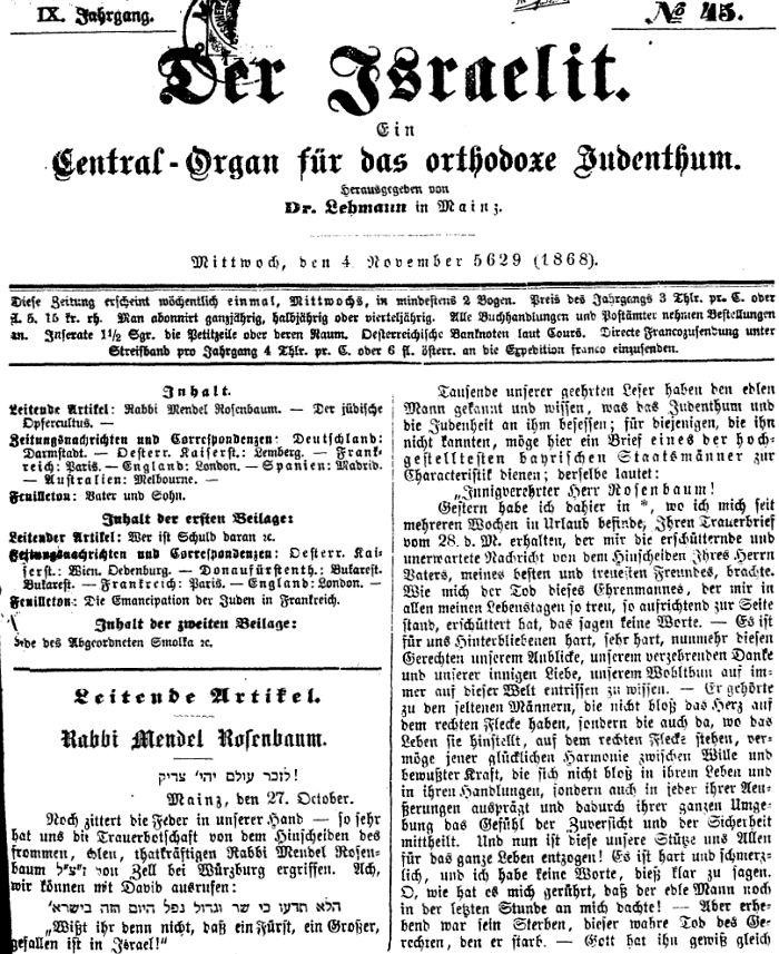 Zur jüdischen Geschichte in Zell am Main (Kreis Würzburg)