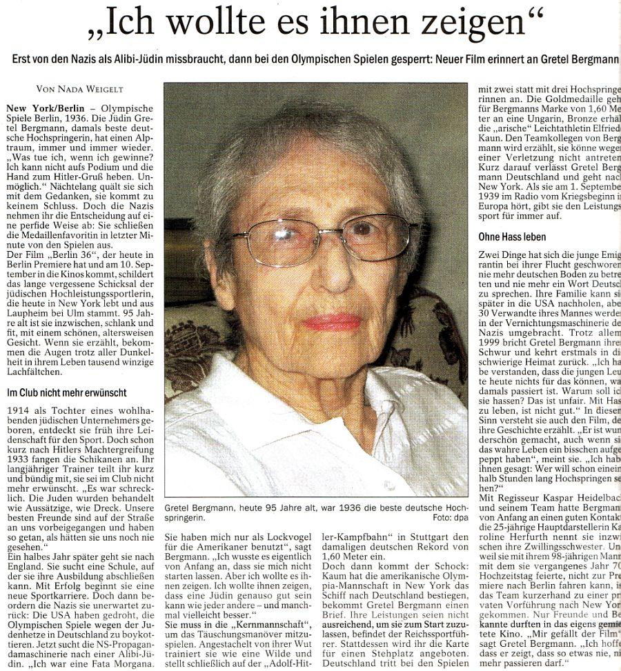 Helene Hirsch Jüdin