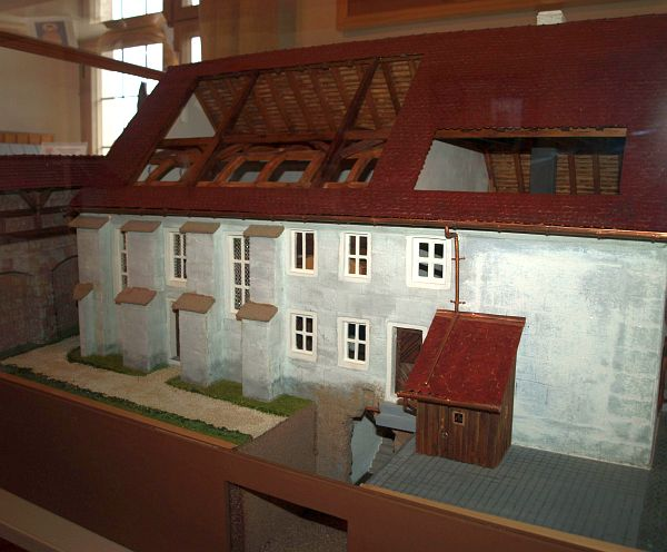 Die Synagoge in Roth bei Nürnberg (Mittelfranken)